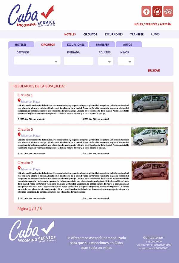 Agencia de viaje a Cuba : reserva de Hoteles, Transfer, Tours, Circuitos, Autos, y más