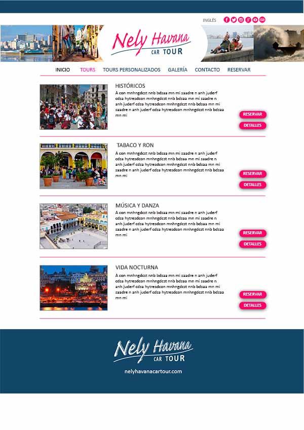 Nely Havana Car Tour es una compañía especializada en tours privados en La Habana, Cuba.