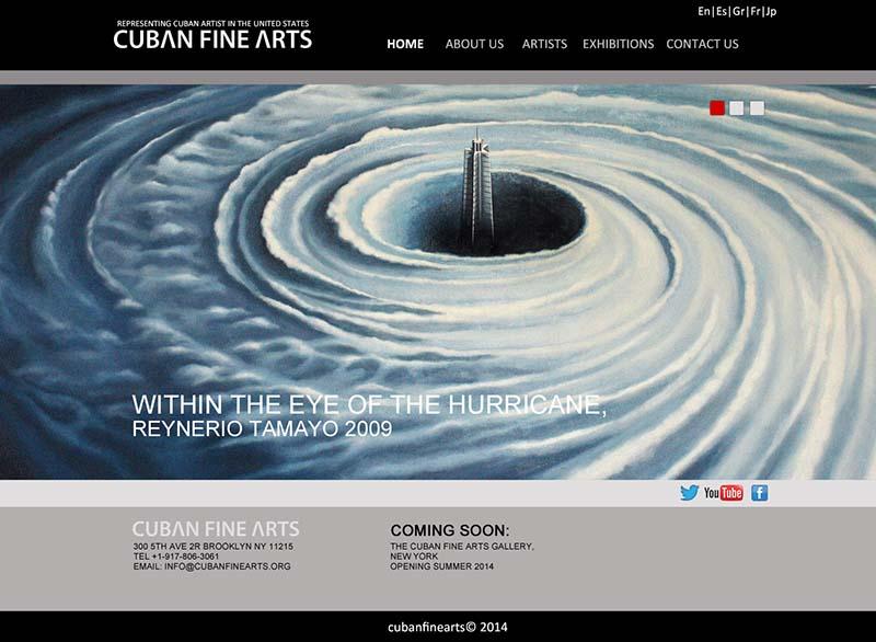Galería de arte en New York.