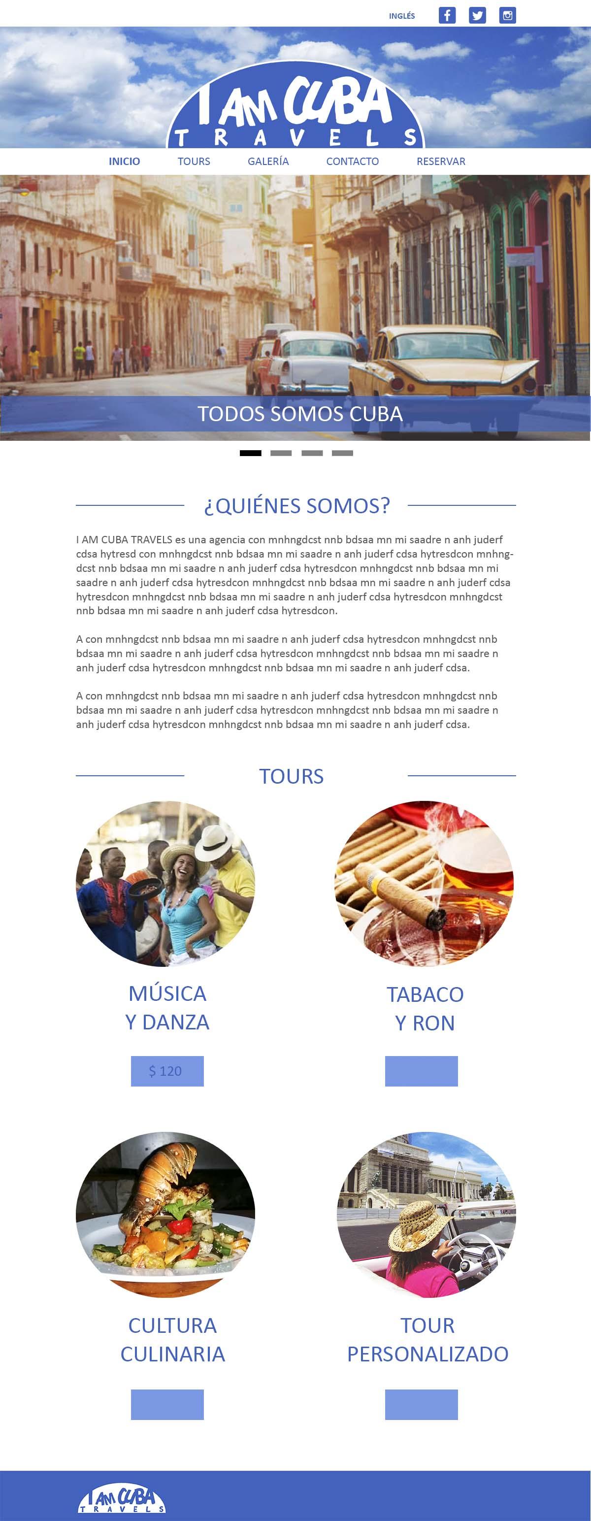 I am Cuba Travels , agencia de viajes turísticos portoda Cuba.