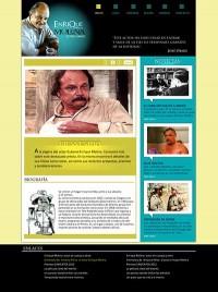 La web Oficial del actor cubano Enrique Molina.